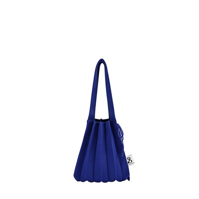 [조셉앤스테이시] Lucky Pleats Knit S Royal Blue