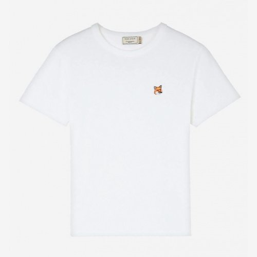 [PRE-ORDER] 20SS TEE-SHIRT FOX HEAD PATCH WHITE WOMEN AW00103KJ0005