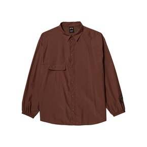 [골스튜디오] SSFC WINDBREAKER SHIRT - BROWN