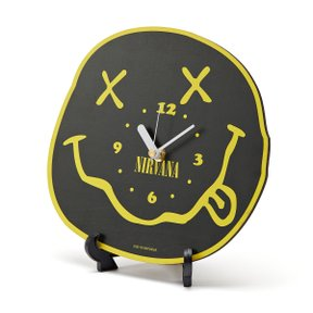 세컨랩 NIRVANA SMILE CLOCK BLACK