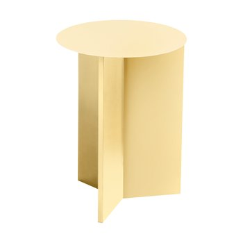 [주문 후 3개월 소요] Slit Table Round High Light Yellow