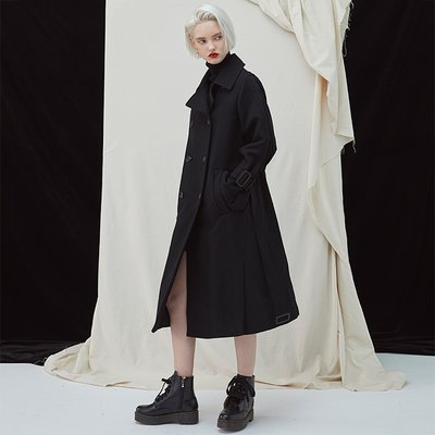 [35%할인적용가]Gemini Coat - Black
