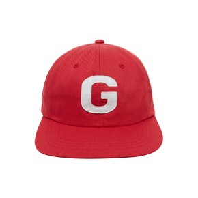 [골스튜디오] G FELT LOGO CAP - RED