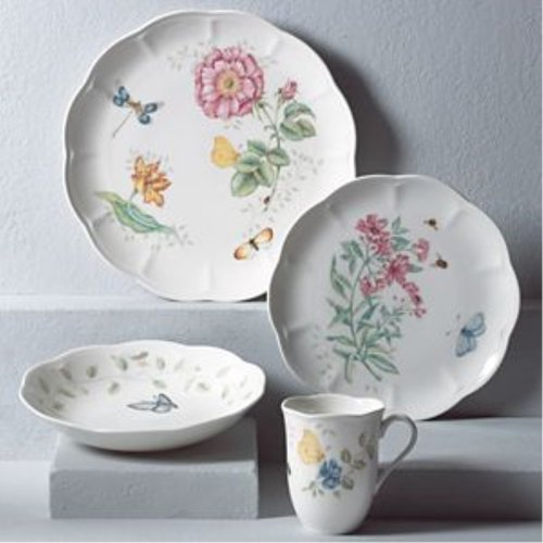 레녹스 Lenox Butterfly Meadow 4Pc Place Setting