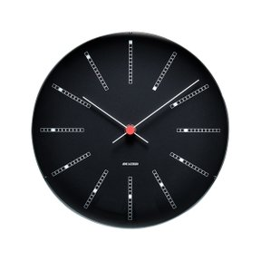 아르네야콥센 Wall Clock Bankers Ø21cm Black (43636)