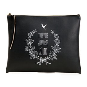 Favorite sound_clutch bag