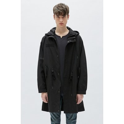 [19S/S][PLAC] MENS LIGHT FABRIC FISHTAIL PARKA_BK (PWON1CTLA7M0C1)