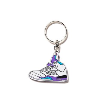 세컨랩 AJ5 KEY RING PURPLE