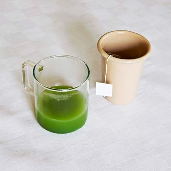 GLASS COFFEE MUG M