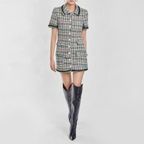 / luxe tweed minidress