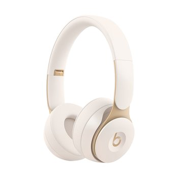 Beats Solo Pro Wireless Noise Cancelling 헤드폰 - 아이보리(MRJ72ZP/A)