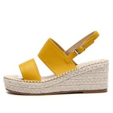 kami et muse Wide band espadrille wedge sandals_KM19s278
