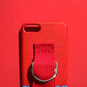 SUN CASE SWEATER RED BLUE