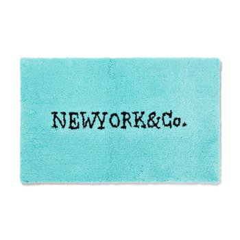 NEW YORK & Co. RUG MAT BLUE