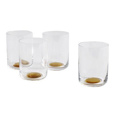 COLOUR GLASS WATER HIGH Set of 2