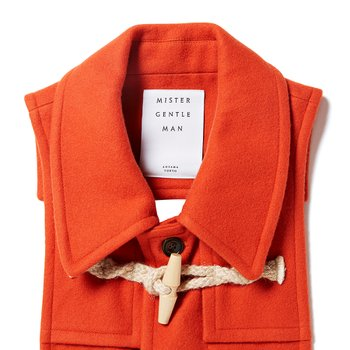 DUFFLE COAT STOLE ORANGE