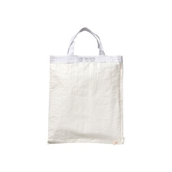 SHOPPING BAG WHITE 42x39