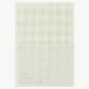 A5 LINED NOTEBOOK PALE GREEN