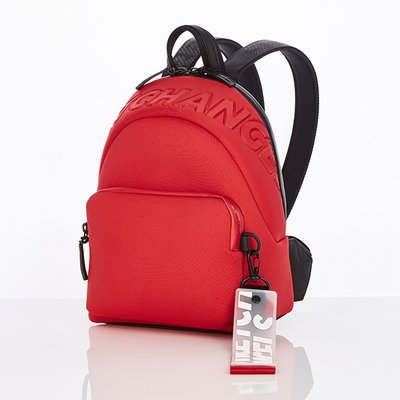 스트레치엔젤스[N.E.O] Basic zipper pocket backpack S (Red)