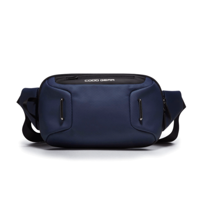 COOD GEAR XIX 005 Waist Bag Navy 쿠드기어 웨이스트백
