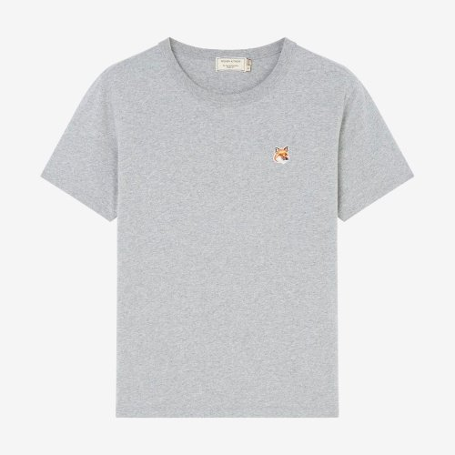 [PRE-ORDER] 20SS TEE-SHIRT FOX HEAD PATCH GREY WOMEN AW00103KJ0005