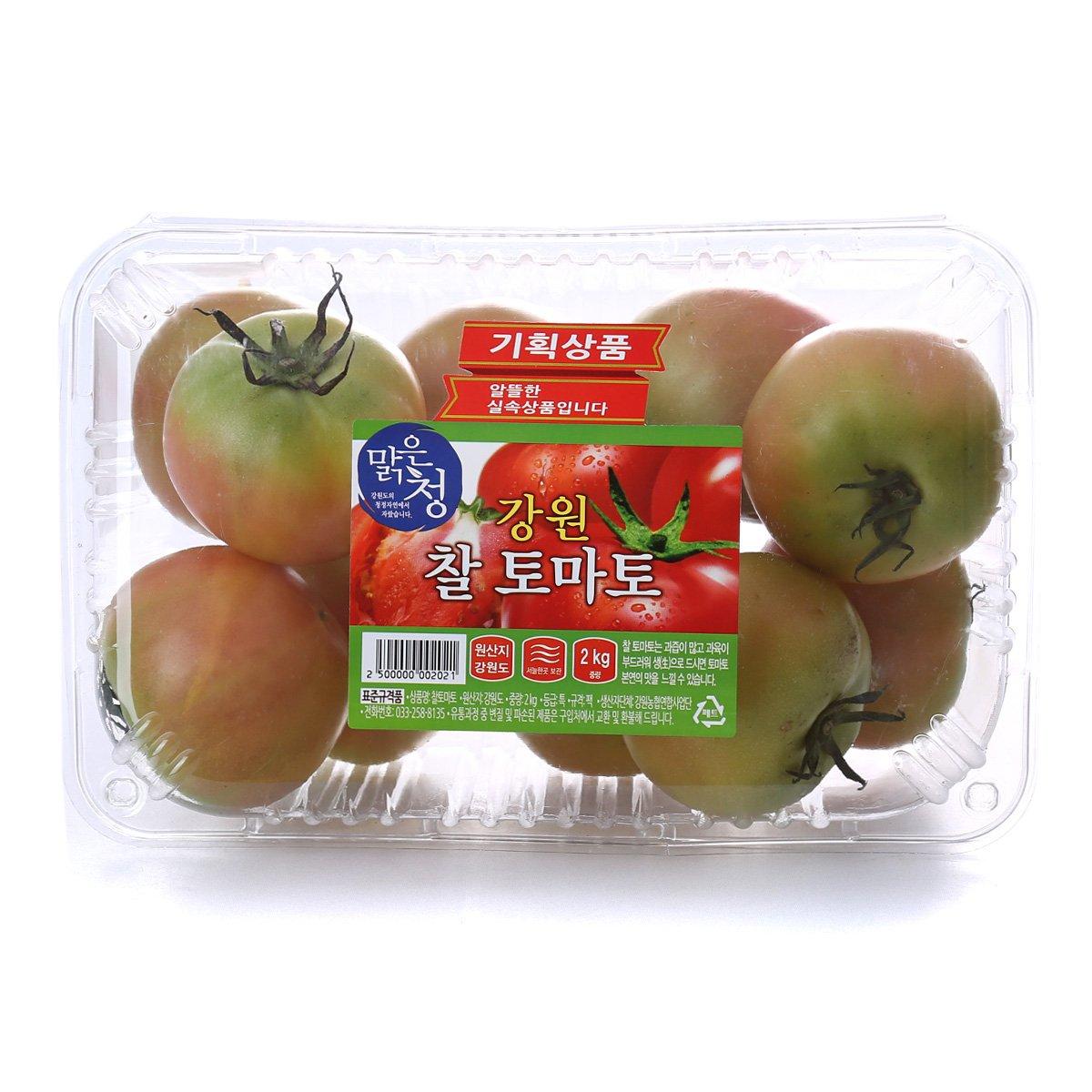 [국내산] 강원 찰토마토 2kg/팩