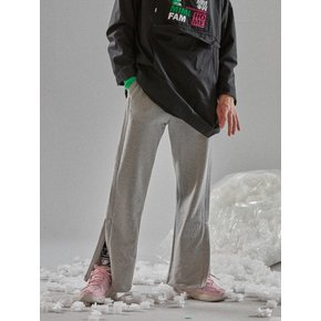 [MIMICAWE] WIDE TRACK PANTS/GREY