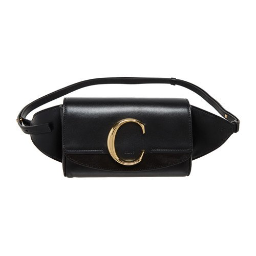 [CHLOE] c BAG (BLACK)