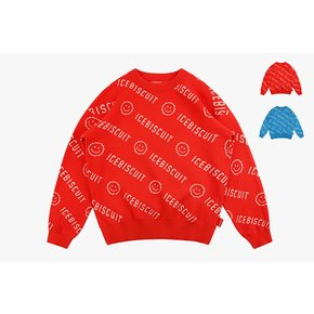 [40% SALE] Icebiscuit smile pullover sweater