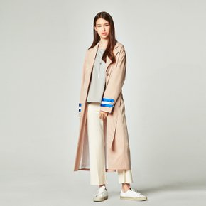 [30%할인적용가]COLOR LINE COAT BEIGE