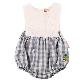 Pineapple baby lace check suit / BP7216132