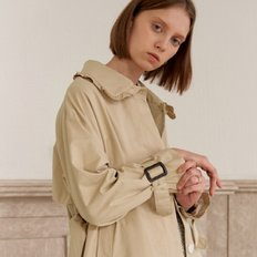 [20%할인가][엽페]HIDDEN TRENCH COAT_BEIGE