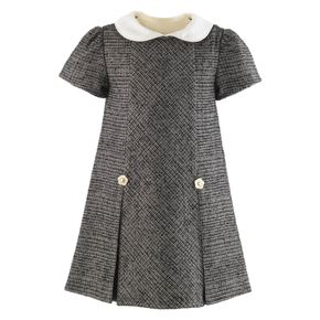 Sparkle Tweed Shift Dress