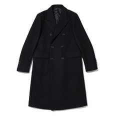 solid wool double coat_C9CAW18856BKX