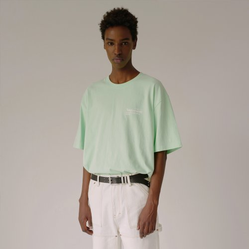 UNISEX ANDERSSON RESORT COLLECTION T-SHIRT atb316u(PALE JADE)