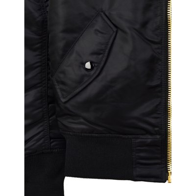 ALPHA INDUSTRIES W Bomber MA-1 Blk