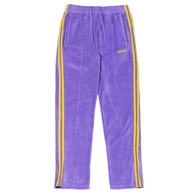 [신세계 단독 색상] Velour Track Pants PURPLE