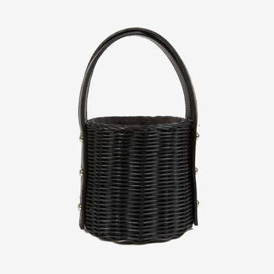 WICKER WINGS 위커윙즈 QUAN BAG BLACK