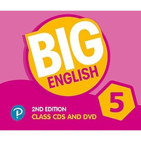 Big English 5 Class CD and DVD (Paperback/2nd Edition)