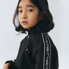 [골스튜디오] [KIDS] SMALL LOGO TRACK JACKET - BLACK (키즈)
