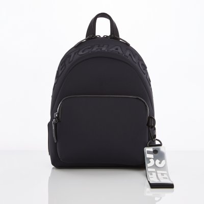 스트레치엔젤스[N.E.O] Basic zipper pocket backpack S (Black)