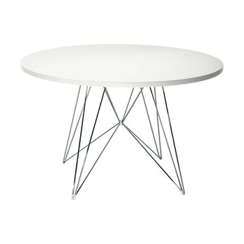 마지스 XZ3 Table white (Chrome Frame)