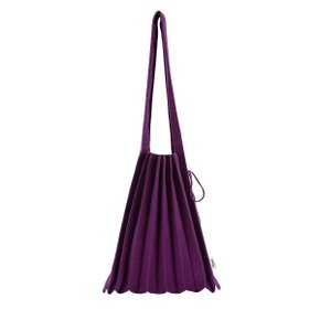 [조셉앤스테이시] Lucky Pleats Knit Warm Crossbag M Melange Purple