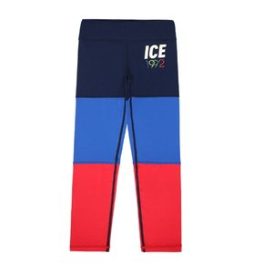 1992 ice color block leggings