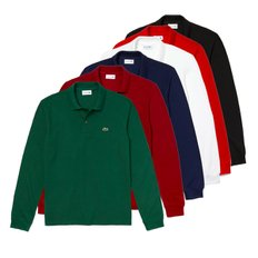 남성 롱슬리브 폴로 긴팔티셔츠 6COLOR (LACOSTE LONG SLEEVE CLASSIC PIQUE POLO SHIRT L1312)