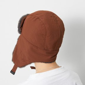 스노우피크 CO Typewriter Field Flight Cap brown