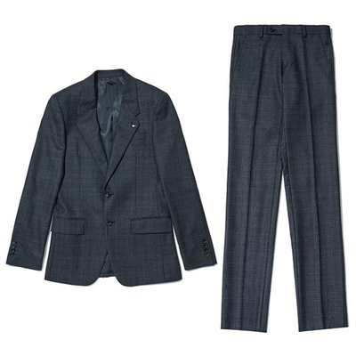 basic glen check suit _CWFBA18553NYX_CWFCA18553NYX