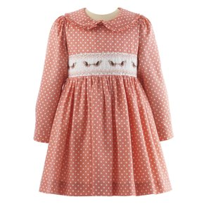 Bird Smocked Dress