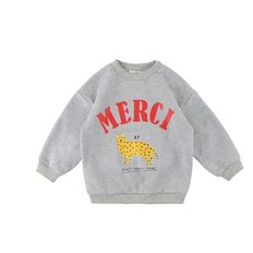 Merci cheetah baby sweatshirts