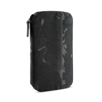 TRAVEL ZIP WALLET CAMO